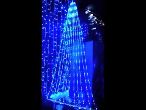 prilux-screenlight-wasserfall-4-x-15mts-led-blau-kabel-transparent