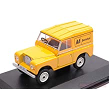 NEW Oxford OXF43LR3S002 Land Rover Serie III SWB Hard Top AA Service 1:43 Die