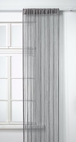Homemaison spaghetti hm69807592 cortina de hilos color for Cortinas de hilos
