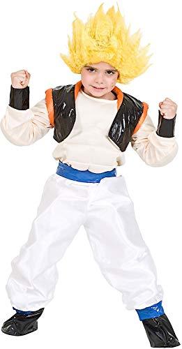 Costume di carnevale da guerriero goge vestito per ragazzo bambino 7-10 anni travestimento veneziano halloween cosplay festa party 3679 taglia 8/m