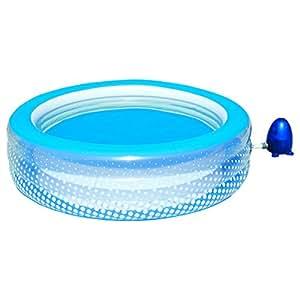 Piscina gonfiabile idromassaggio bolle e relax d196x53h - Gonfiabili piscina amazon ...