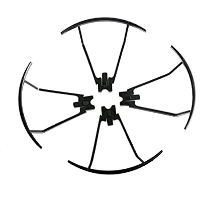 Hotbird Original Main Blade Propellers Props Propellers Guards for VISUO XS809 XS809HC XS809HW XS809W Drone Replacement Accessories RC Quadcopter Spare Parts 8 Pack