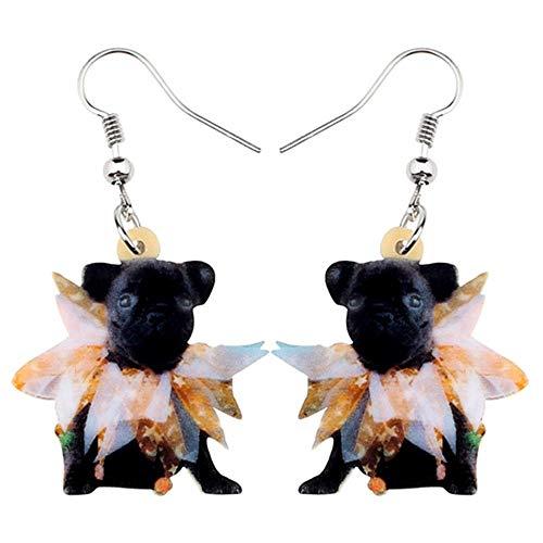 ZHWM Ohrringe Ohrstecker Ohrhänger Acryl Halloween Tier Ohrringe Tropfen Baumeln Kostüme Tier Schmuck Für Frauen Mädchen Dekorationen Geschenk
