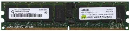 Registered Ecc Sdram 240 Pin (hys72t512922er-3.7-b 4GB PC2-4200DDR2-5332RX4240-PIN Registered ECC SDRAM DIMM)