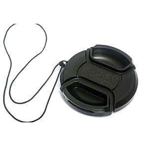 LY dengpin 40.5mm caméra bouchon d'objectif pour Sony NEX-5R nex-5t nex-3n A6000 A5100 A5000 avec 16-50mm lentille + une corde titulaire de laisse , Black , 40.5mm