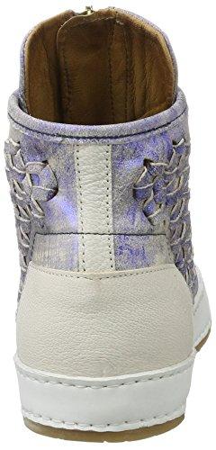 A.S.98 Mabel, chaussons d'intérieur femme Blau (MIRTILLO/MIRTILLO/Bianco)