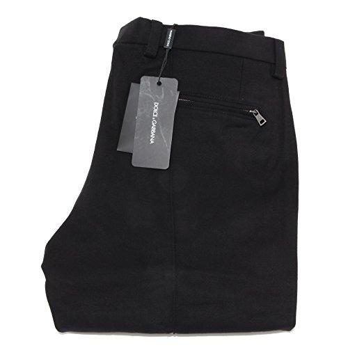 5076M pantaloni neri uomo DOLCE&GABBANA D&G men pants trousers [52]