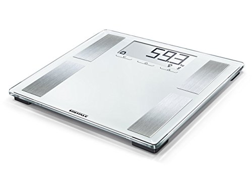 Soehnle 63872 Körper-Analysewaage Shape Sense Connect 100 mit Bluetooth