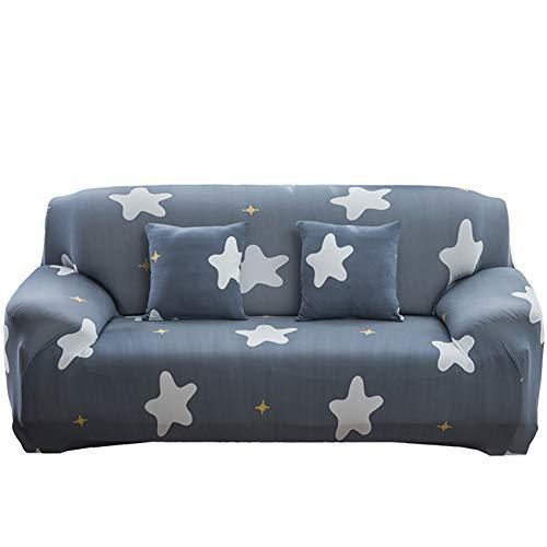3-sitz-sofa-abdeckung (NAttnJf Langlebig Tragbar Katze Flamingo Leaf Star Sofa Wrap volle Abdeckung elastische Couch Fall Slipover Decor 4# Sitz DREI)