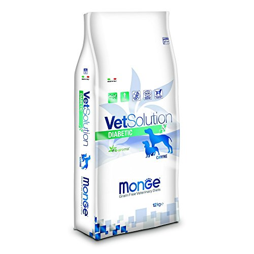Monge Vetsolution Cane Diabetic kg. 12 Cibo Secco per Cani