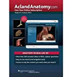 [(AclandAnatomy: Single User Version: One-Year Online Subscription)] [Author: Robert D. Acland] published on (July, 2011