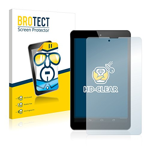 BROTECT Schutzfolie kompatibel mit Odys Connect 7 Pro [2er Pack] klare Bildschirmschutz-Folie