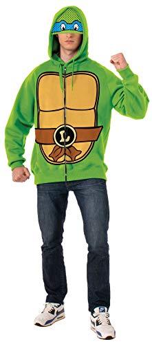 Nickelodeon Kostüm Für Erwachsene - Teenage Mutant Ninja Turtles Leonardo Erwachsene