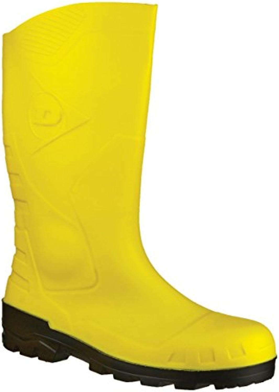 dunlop.devon h142211 jaune jaune jaune b00njsr1es sécurité de taille 10 parents bottes wellington 80ff90