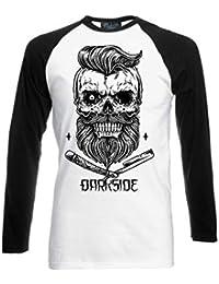 F ck You Skull Genuine Darkside Skull And Crossbones Mens T Shirt