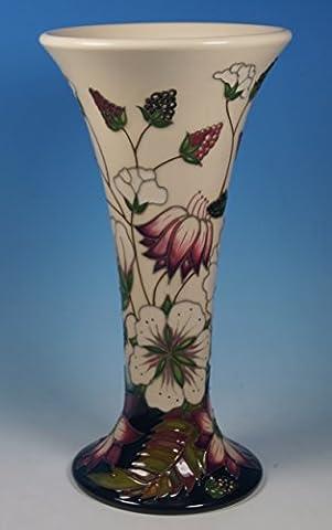 Une Moorcroft (Bramble revisité 21cm Vase à col évasé 85/81ère