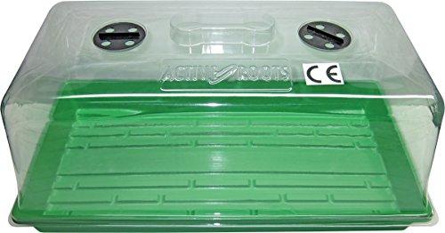 Active Roots Anzuchtsysteme Anzuchtschale, 55 x 29 x 24,5 cm, grün