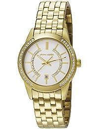 Pierre Cardin Damen-Armbanduhr Troca Analog Quarz Edelstahl PC106582F07