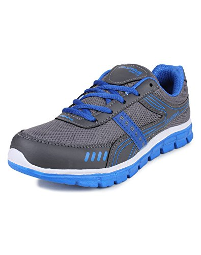Columbus L-7003 Mesh Sports shoes, Walking shoes, Outdoor Multisports shoes for Women (7 UK, GreyRBlue)