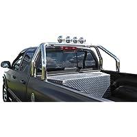 Roll-bar 76mm in acciaio inox per Pickup s–Universale–regolabile compatibile con superficie di carico Larghezza di 1570–1680mm.