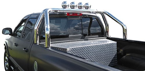 Edelstahl Überrollbügel 76mm für Pickup's - universell passend - verstellbar passend für Ladeflächenbreite von 1570-1680 mm!