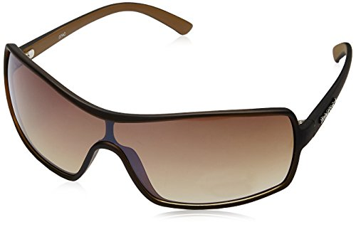 Fastrack Rectangular Sunglasses (Brown) (P119BR2)  available at amazon for Rs.956