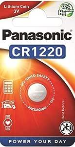 Panasonic Cr1220 Lithium Knopfzellenbatterien 3 V 4 Elektronik