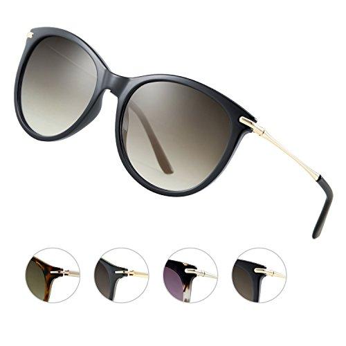 Elegear Sonnenbrille Damen Sonnenbrille Retro Verlaufsglas Sonnenbrille Vintage Retro-Collection,...