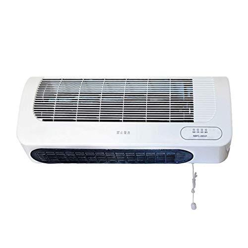 HQCC Elektrische Keramikheizung, fortschrittliche thermostatische Wand- oder Standheizungs-Badheizung (2100W) (Farbe : Weiß)