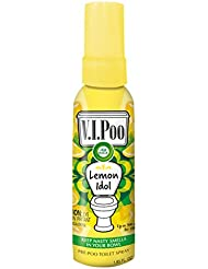 Air Wick VIPoo Pre Poo Spray, Lemon Idol, 55 ml, Single