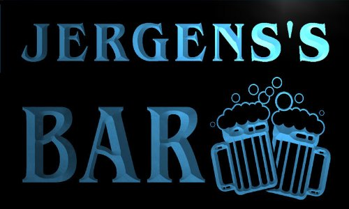 w044947-b-jergens-name-home-bar-pub-beer-mugs-cheers-neon-light-sign-barlicht-neonlicht-lichtwerbung