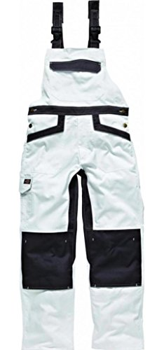 DICKIES IN4001 - INDUSTRIA DE PETO 260 BLANCO / GRIS  ¿POR QUE-106
