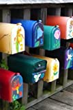 Colorful Mail Post Mailboxes Journal: Take Notes, Write Down Memories in this 150 Page Lined Journal