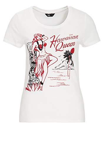 Queen Kerosin T-Shirt - Hawaiian Queen L - Womens Hawaiian-t-shirt