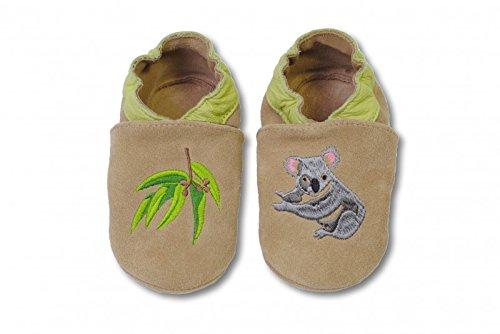 bestickte Krabbelschuhe in verschiedenen Designs von HOBEA-Germany, Größe Schuhe:26/27 (30-36 Mon), bestickte - Baby-schuhe Koala Für Mädchen