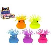 PMS 2 Puffer de pato con pelo y luz intermitente 36pcs en D/caja