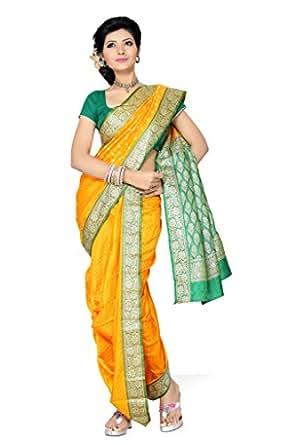 Ishin Silk Saree (Sngm-1877_Yellow)