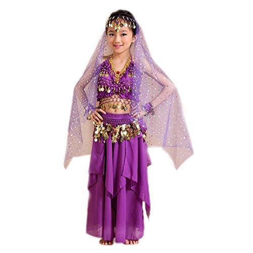 Mädchen Kleid Bauchtanz