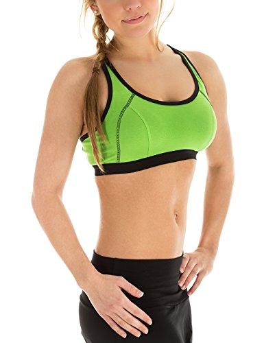 Winshape loisirs/fitness pour femme avec haut push up soutien-gorge de sport Vert - Vert pomme