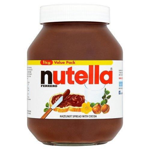 Nutella – 1kg – Pâte à tartiner aux noisettes
