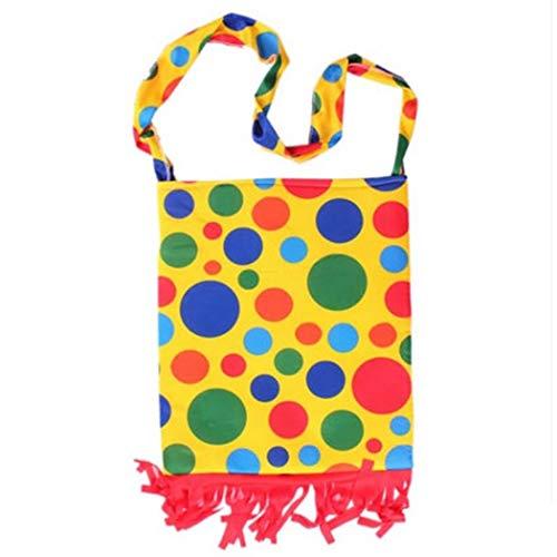 Kapmore Clown Kostüm Kreativ Komisch Clown Umhängetasche Party Tasche Kostüm Tasche Für Halloween