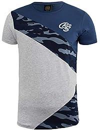Crosshatch Uomo Camo T Shirt CRS55 Browfoot Militare Superiore Maniche  Corte Nuovo 69c8ad191a3