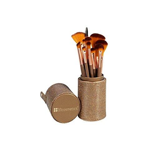 Shimmering Bronze - 12-teiliges Pinselset von BH Cosmetics