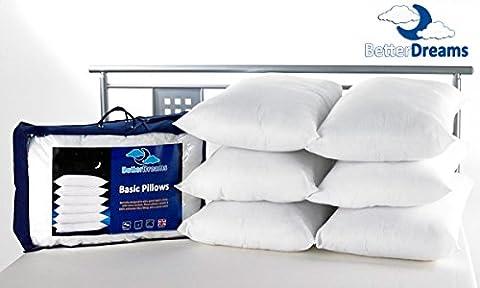 Cheap Pillows Pack Of Four Better Dreams Budget Pillows