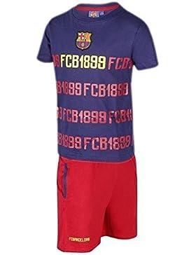 Pijama Adulto FC BARCELONA-BARÇA 1899 Manga Corta Talla XL