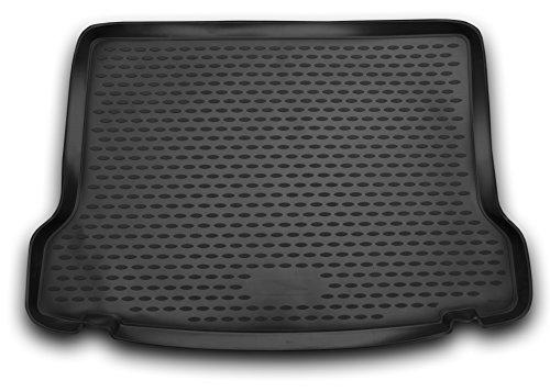 AD Tuning TM22011 Passform Gummi Kofferraumwanne, rutschfest, schwarz