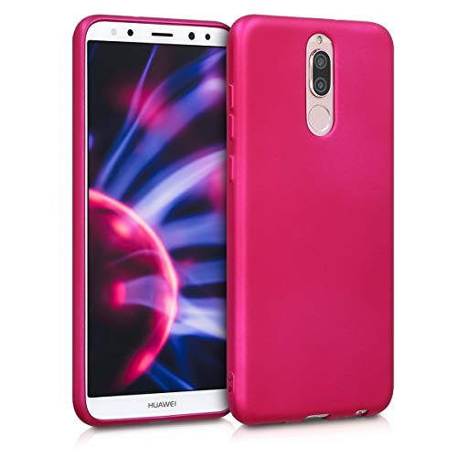 kwmobile Huawei Mate 10 Lite Hülle - Handyhülle für Huawei Mate 10 Lite - Handy Case in Metallic Pink