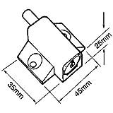 Home secure - Cerrojo de seguridad para puertas correderas (aluminio)