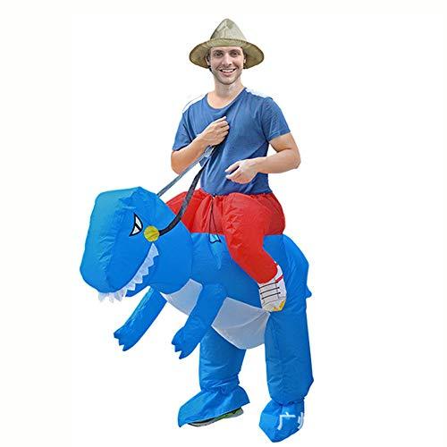 Sxwz Halloween aufblasbare Kleidung, Centaur Orc Adult Cosplay Weihnachten Karneval Eltern-Kind-Performance Party Kostüm,A,150/190cm (Centaur Kostüm Kinder)