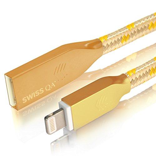 cable-lightning-para-apple-iphone-7-6-6s-5-ipad-ipod-1m-oro-plano-cordon-cargador-de-carga-y-sincron